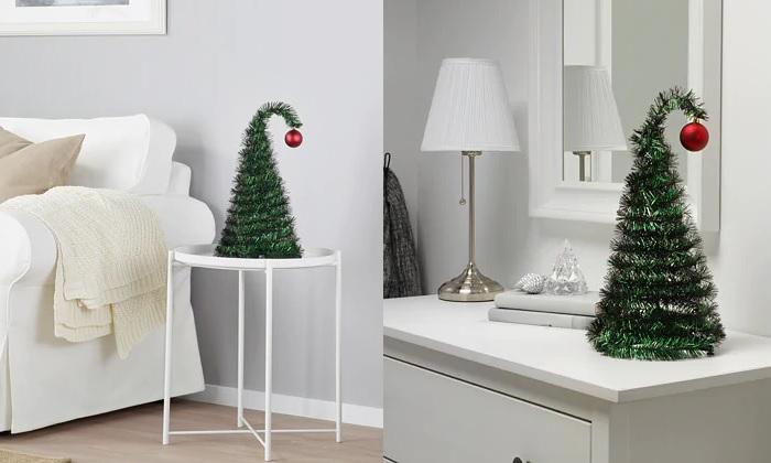 mini arbol de navidad ikea decorativo