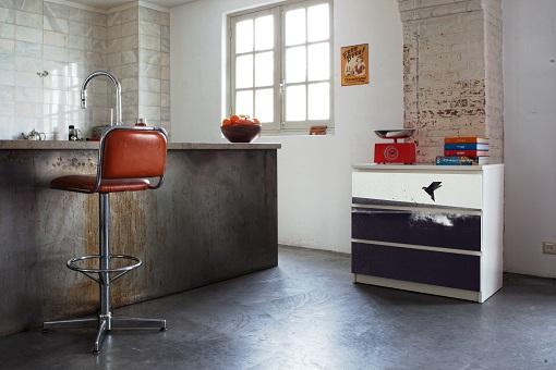 Los vinilos mykea te ayudan a personalizar tus muebles for Vinilos muebles