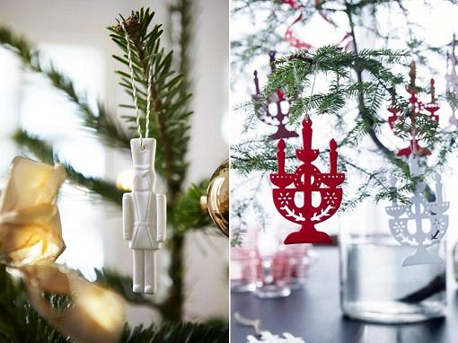 adornos árbol de navidad Ikea