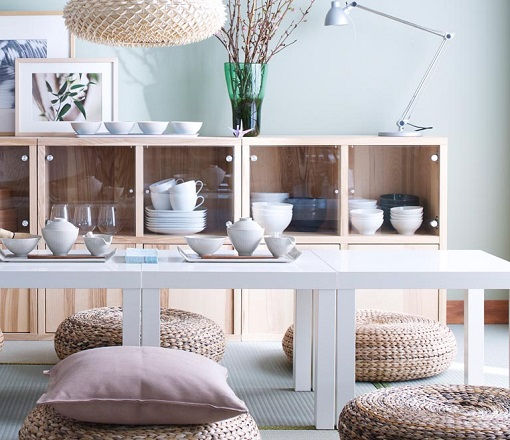 Aparadores de ikea mueblesueco Objetos decoracion salon
