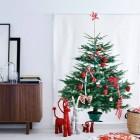 árbol de navidad tela