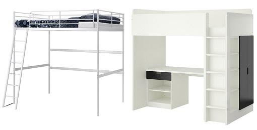 camas altas de ikea mueblesueco