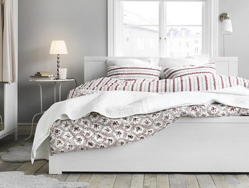 colchas y edredones ikea para tu cama