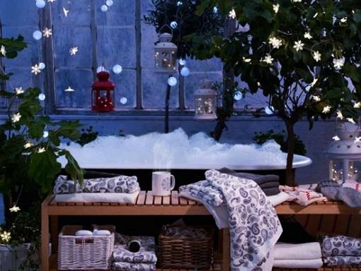 guirnaldas ikea árbol navidad