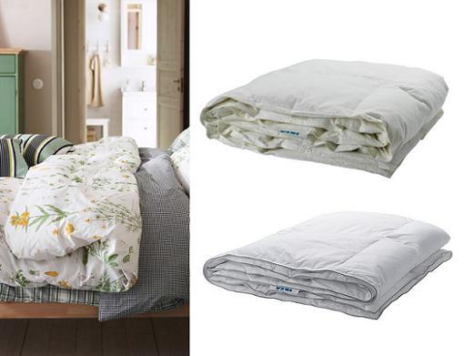 Colchas y edredones Ikea para tu cama: fundas, nórdicos