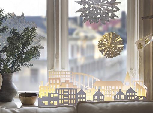 Luces de navidad ikea blancas para exteriores e for Luces de navidad para exteriores