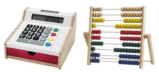 juguetes ikea caja registradora abaco