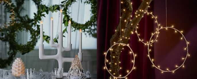 luces de navidad kea
