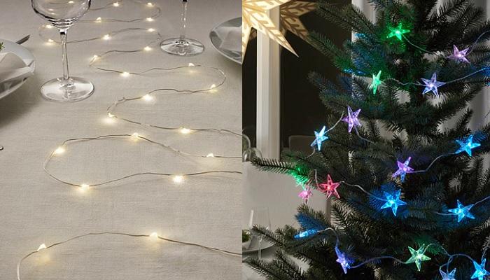 luces de navidad ikea guirnaldas