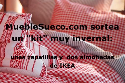 Sorteo de un kit invernal unas zapatillas y dos almohadas ikea mueblesueco - Almohadas en ikea ...