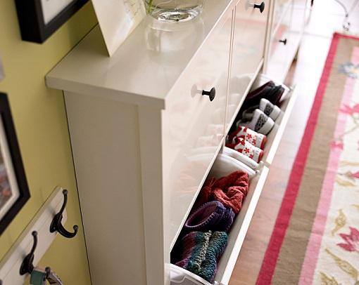 El zapatero Hemnes: un mueble clu00e1sico y elegante para tu recibidor ...