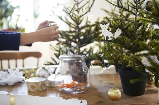 árbol navidad mini Ikea