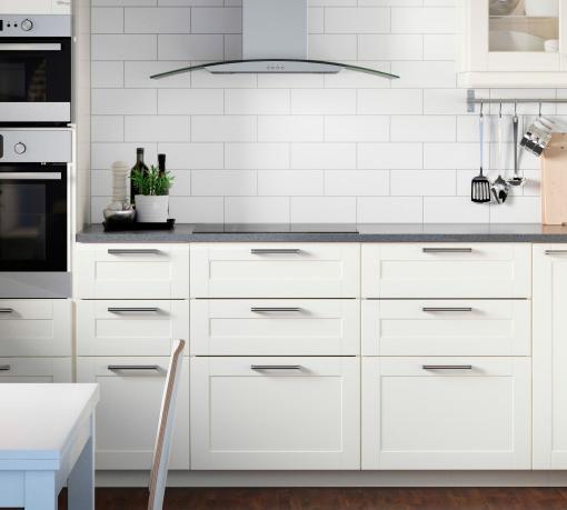 Muebles de cocina blancos ikea ideas - Cocinas blancas ikea ...