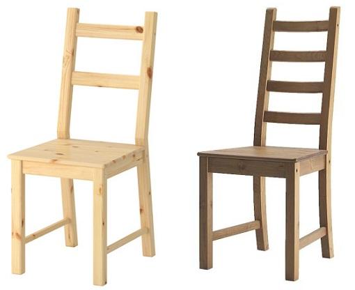 Hermoso sillas de madera para cocina galer a de im genes for Sillas hierro ikea