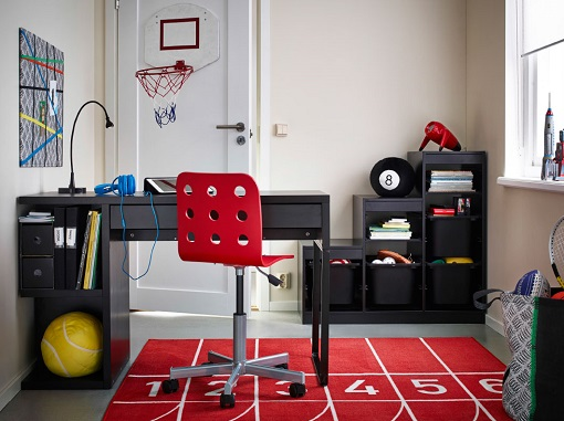 Ikea Hocker Für Schminktisch ~ En Ikea siempre proponen un montón de ideas alegres y prácticas para