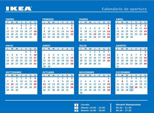 Horario Ikea Murcia