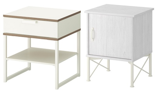 Ikea mesillas mueblesueco for Mesillas de forja ikea