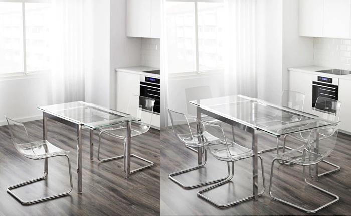 mesas plegables ikea cocina GLIVARP