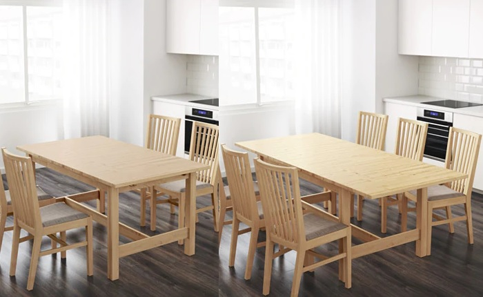 Las mejores mesas plegables Ikea para tu cocina