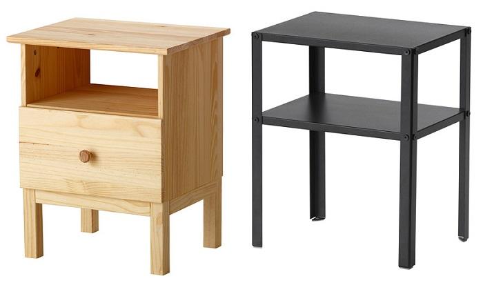 mesillas para el dormitorio IKEA