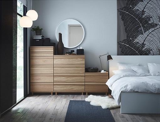 Nuevos muebles de dormitorio 2015 de estilo moderno Ikea Oppland