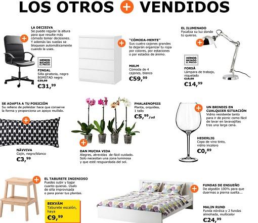 Productos mas vendidos ikea mueblesueco - Articulos mas vendidos ...
