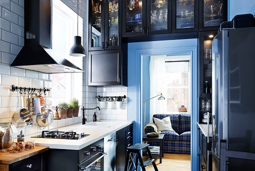Cocinas pequeñas ikea: más ideas prácticas y muy decorativas ...