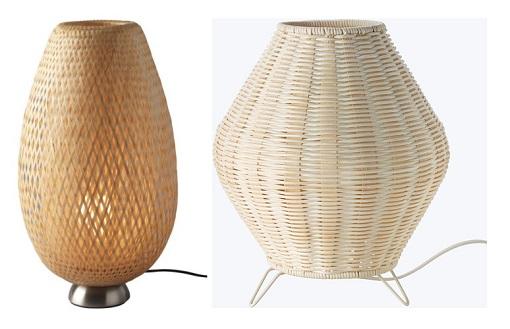 lámparas de mesa Ikea decorativas