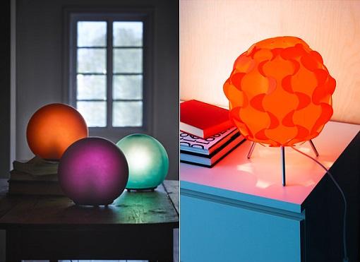 lámparas modernas de ikea