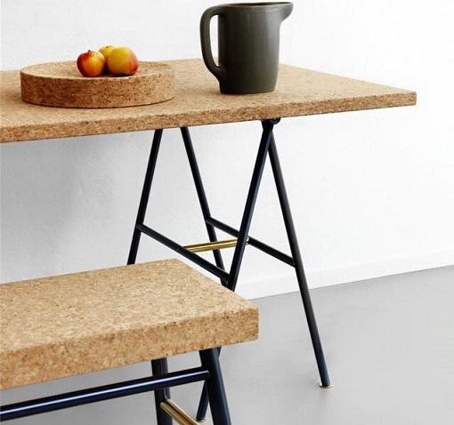 mesa de corcho ikea