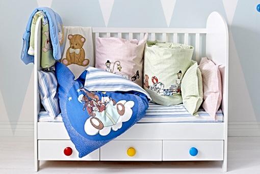 Ropa de cuna Ikea: sábanas y fundas nórdicas para bebés   mueblesueco