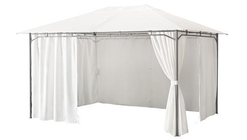cenador con cortinas ikea karlso