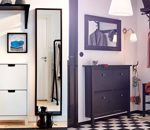 Casas cocinas mueble ikea espejos pared - Espejos recibidor ikea ...