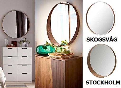 Espejos ikea redondos mueblesueco - Espejos recibidor ikea ...