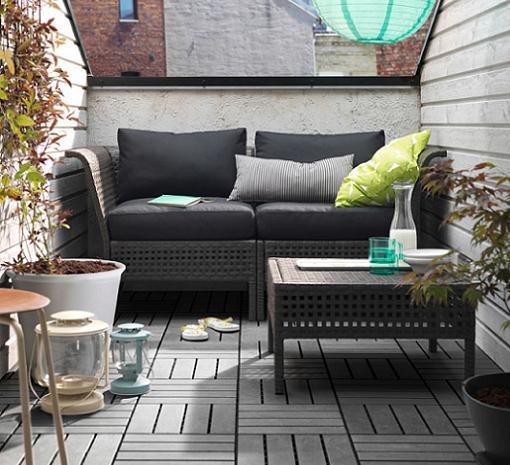 Muebles para terraza ikea idee per interni e mobili for Muebles balcon terraza