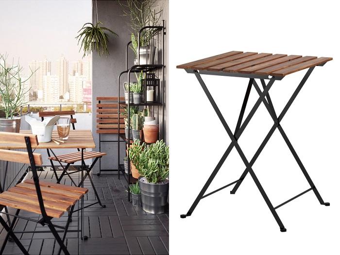 5 mesas de jard n ikea plegables las m s pr cticas - Ikea mesas plegables catalogo ...