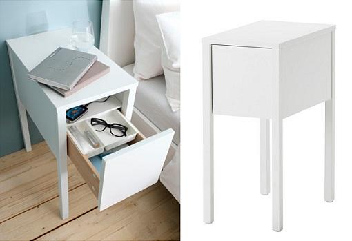 Mesillas blancas Ikea
