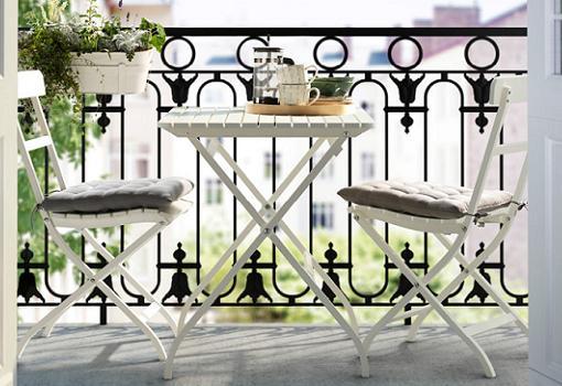 muebles terraza ikea malaro