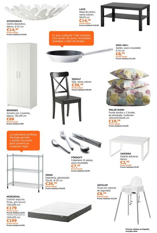 ofertas Ikea para abril 2015