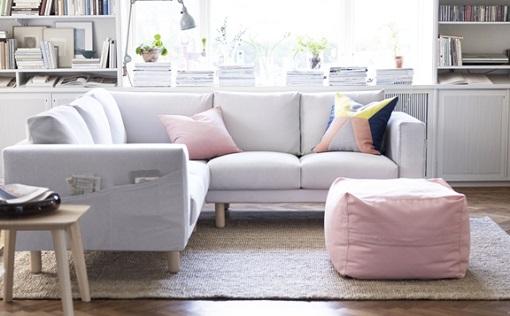 C mo decorar un sal n ikea nuevos muebles e ideas para - My place salon de the ...