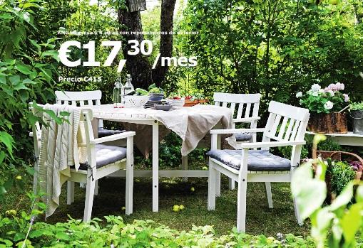 Catalogo muebles de exterior ikea mueblesueco - Ikea jardin catalogo ...