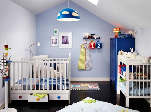 Nuevas ideas para una habitaci n de beb ikea pr ctica y - Dormitorios bebe ikea ...