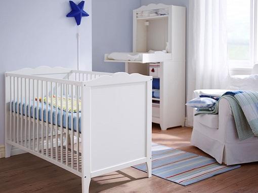 Nuevas ideas para una habitaci n de beb ikea pr ctica y - Dormitorios de bebe ikea ...