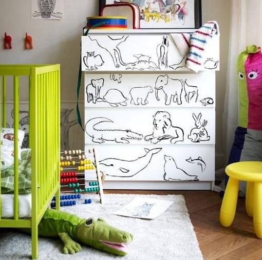 habitación para bebé en Ikea