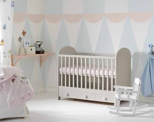 Nuevas ideas para una habitaci n de beb ikea pr ctica y for Habitacion bebe moderna