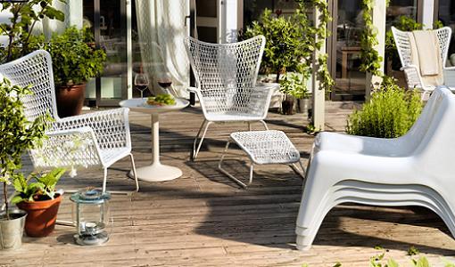 Muebles para balcones una terraza con encanto muebles retro modern decorar balcon muebles - Ikea muebles jardin exteriores lyon ...