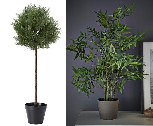 Las plantas artificiales ikea son baratas bonitas y for Plantas artificiales