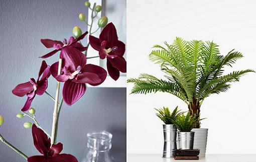 plantas artificiales ikea fejka