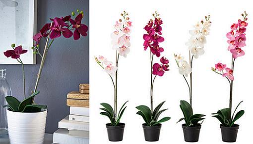 plantas artificiales ikea orquideas