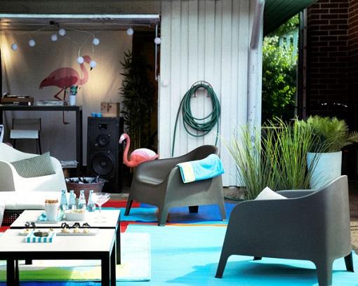 Salon de jardin hubo v rias id ias de for Ikea jardin 2015